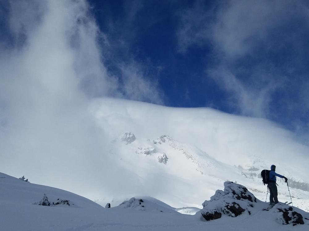 Windy Day on Mount Shasta