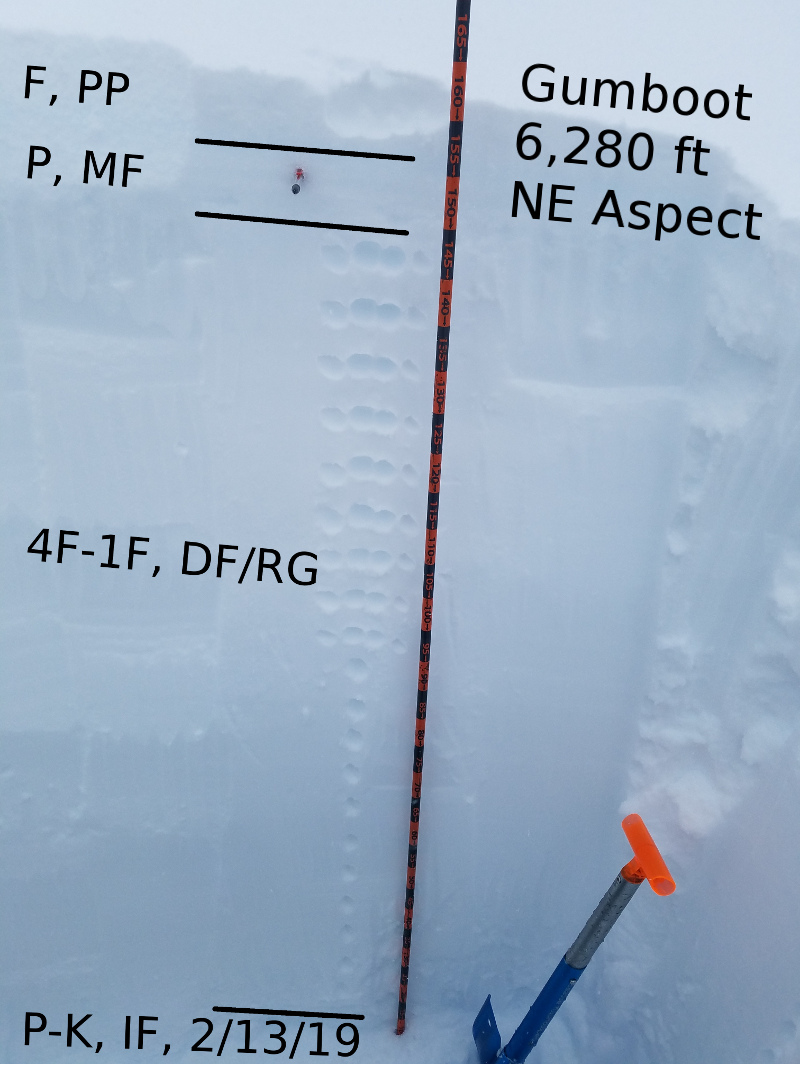 Test Profile at Gumboot Lake