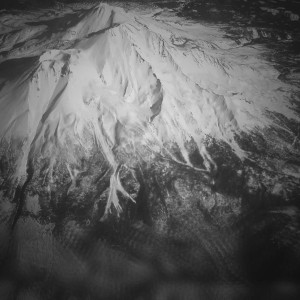 Aerial view of Mt. Shasta