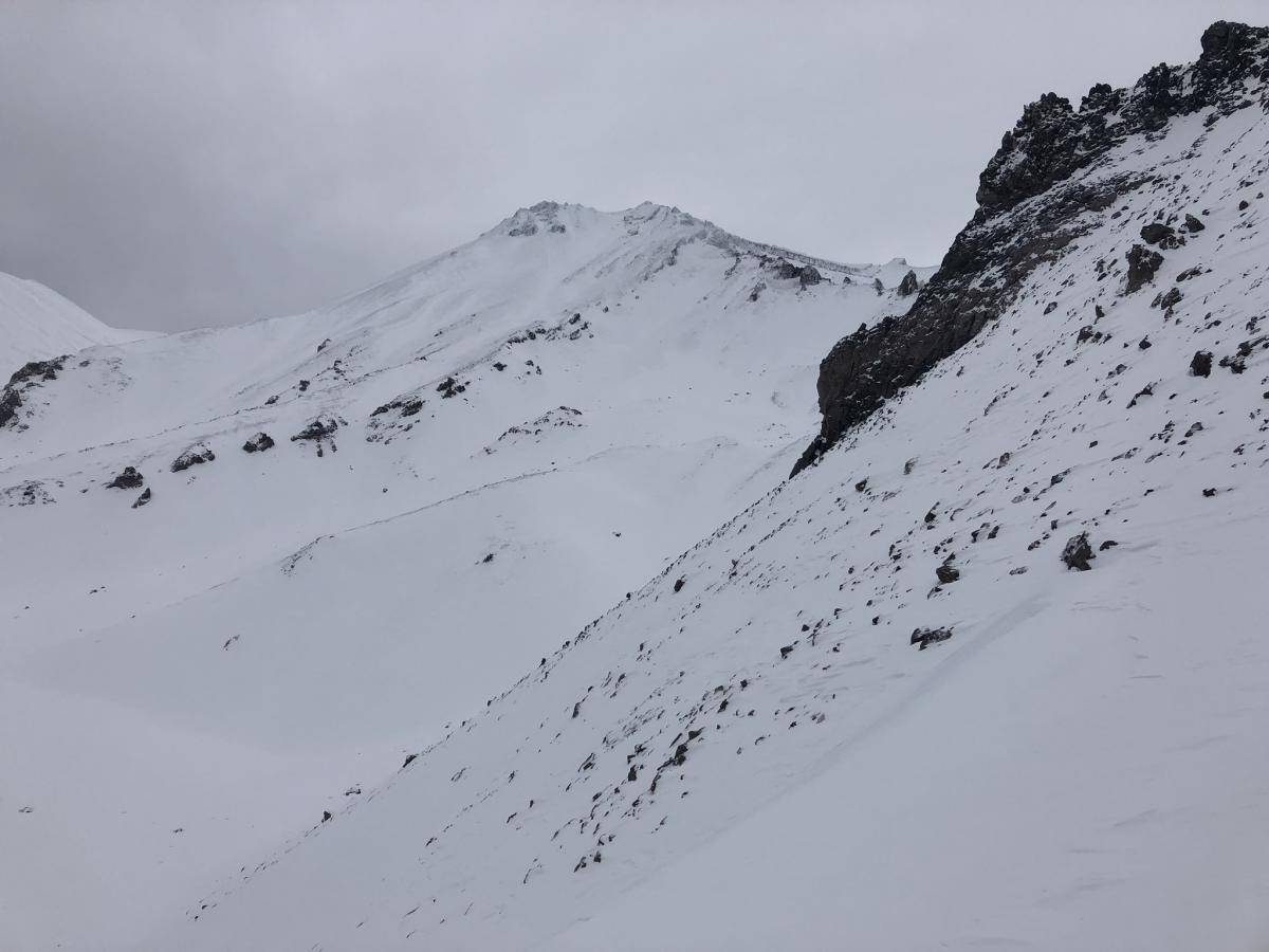 View of West Face from top of Anaconda