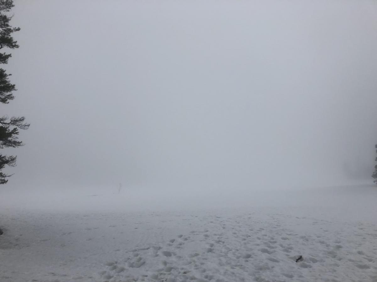 Low Visibility at Castle Lake