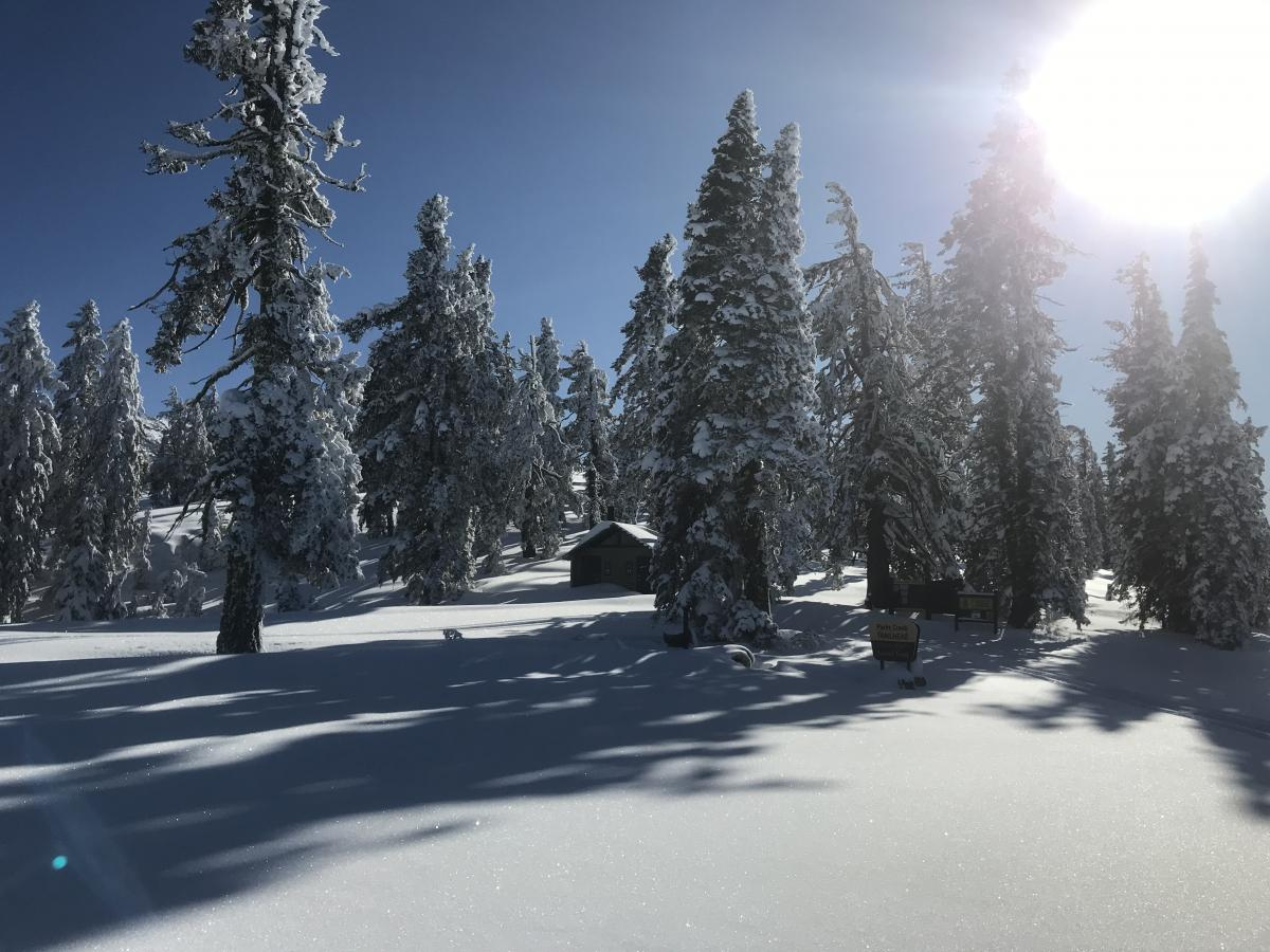 Parks Creek Summit trailhead