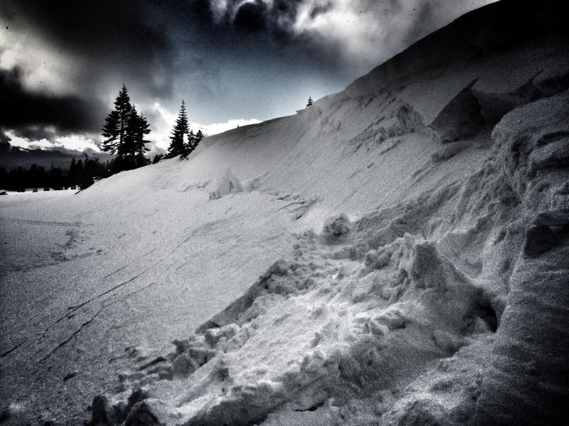 Snowmobile triggered avalanche in Old Ski Bowl