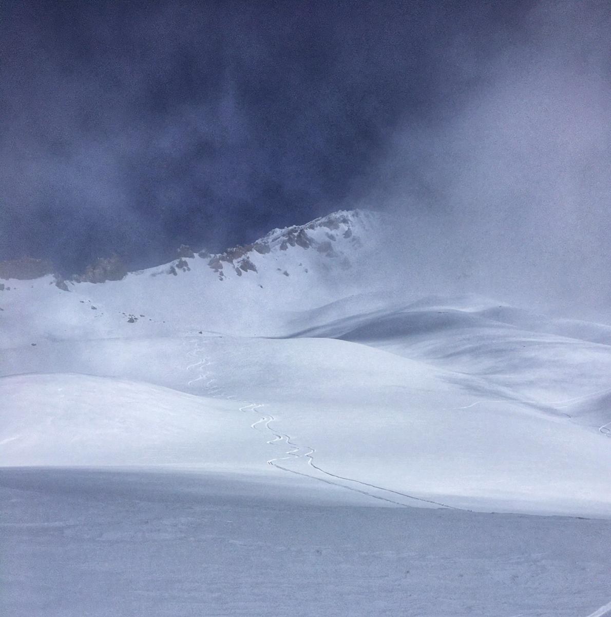 Lower Avalanche Gulch, Above Treeline