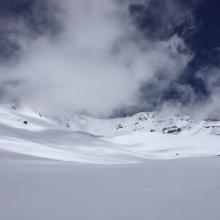 Avalanche Gulch viewed from 50/50