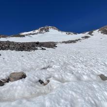 Bottom of hotlum Snow field