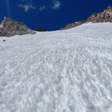 Upper wintun glacier,Sun cups,