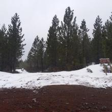 Clear Creek road, 2.2 miles to trailhead on 4.15.18