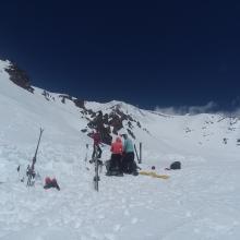 Camp at ~9800' (Top of Giddy Giddy Gulch)