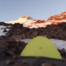 9,900' Camp at Sunrise