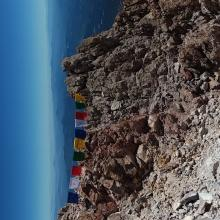 Prayer Flags at summit will tatter and litter the mountain.
