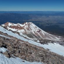 Bolam Glacier, Whitney Glacier and Shastina
