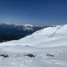 Lower Avalanche Gulch with Casaval Ridge in the background