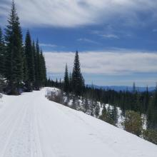 East Side Road to Ash Creek Butte