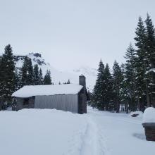 Ski penetration (PS): 13 in