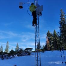 Debugging the Castle Lake weather station.