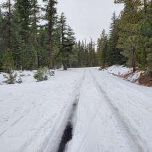 South Fork Road to Gray Rock Lakes Bridge
