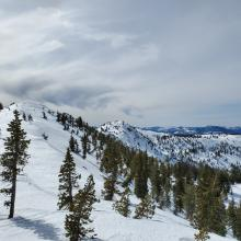 North facing slopes still hold 40-60 inches of snow.