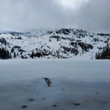 Lake Frozen, Not Supportable