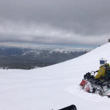 Light Density Deep Snow