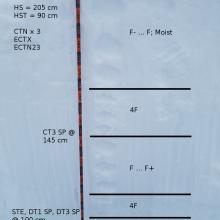 Test Profile w/ Column Test Results