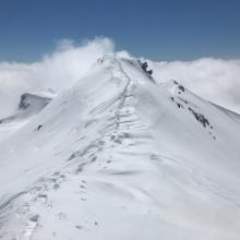 Looking south off Green Butte Ridge, 9,400 feet.