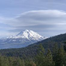 Shasta from the Eddy Mtns