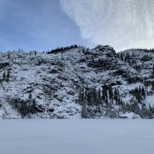 Cliff Lake area