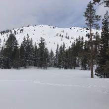 View of Right Peak, Castle Lake