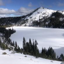 Left Peak and Castle Lake