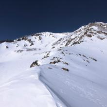 Green Butte Ridge and Avalanche Gulch