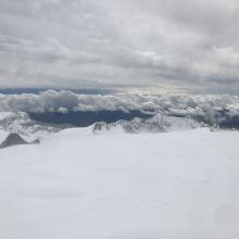 Above treeline, looking south from 9,000 feet