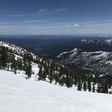 Looking toward Mt Shasta