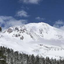 Mount Shasta, east side