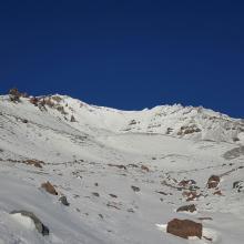 Avalanche Gulch, below Helen Lake