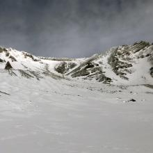 Avalanche Gulch from Lake Helen