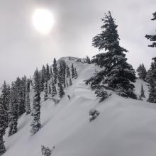 East ridge of Gray Butte