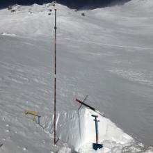 Pit location, E facing, 10k feet