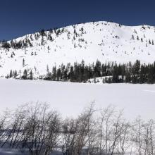 Right Peak from Castle Lake