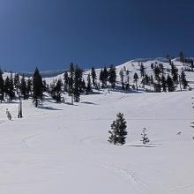 Approaching Middle Peak
