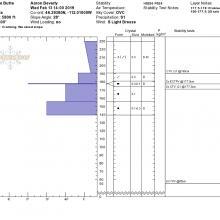 Test Profile to 2/2/19 rain crust