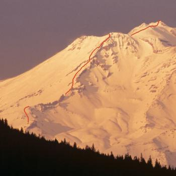Mount Shasta - Casaval Ridge - View from I5 - Photo by Tim Corcoran
