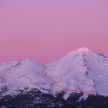 Mount Shasta - Cascade Gulch - Winter Photo - Photo by Tim Corcoran