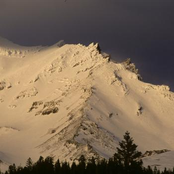 Mount Shasta - Climbing Routes - Green Butte Ridge - Photo by Tim Corcoran